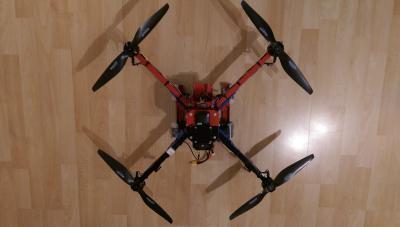 "Kopter mit 14"" Props"