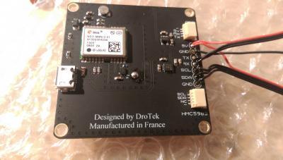 Ublox NEO-M8N GPS + HMC5983 compass (XL)
