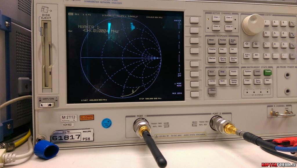 70cm Telemetrie Antennen