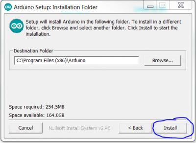 ArduinoIDE install 2