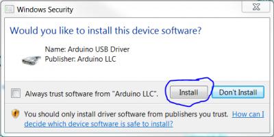 ArduinoIDE install 3
