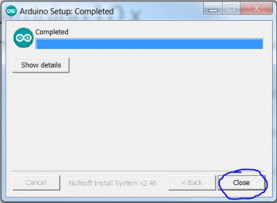 ArduinoIDE install 4