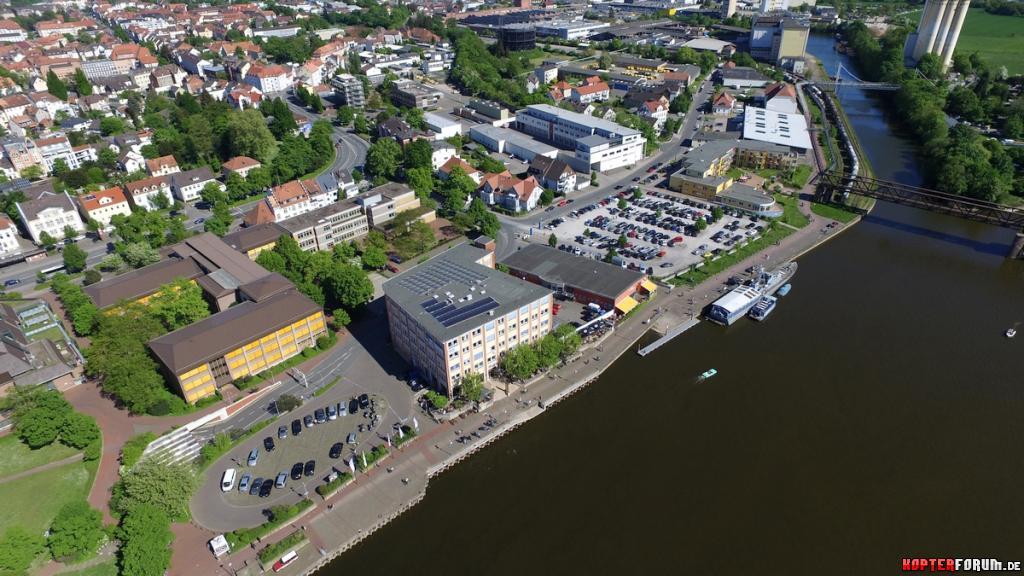 Hameln - Promenade/ Anleger