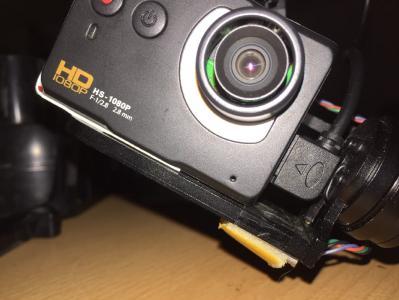 Kamera am Gimbal