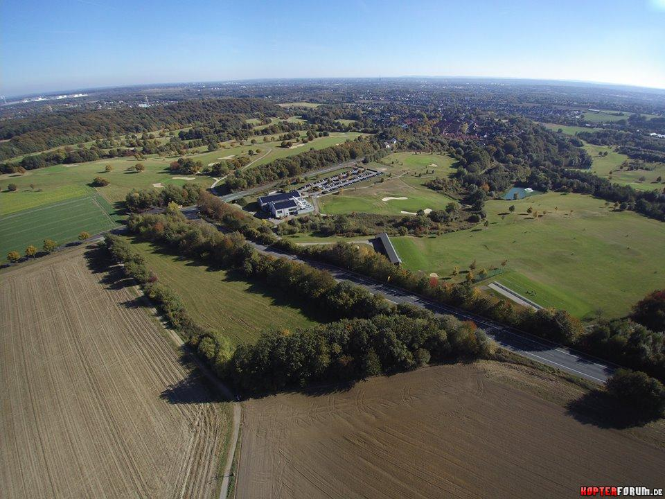 Luftaufnahme Golfplatz Castrop-Rauxel