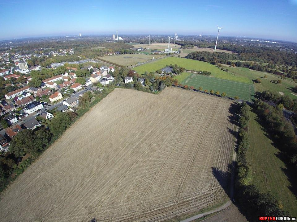 Castrop-Rauxel, Blick Richtung Dortmund