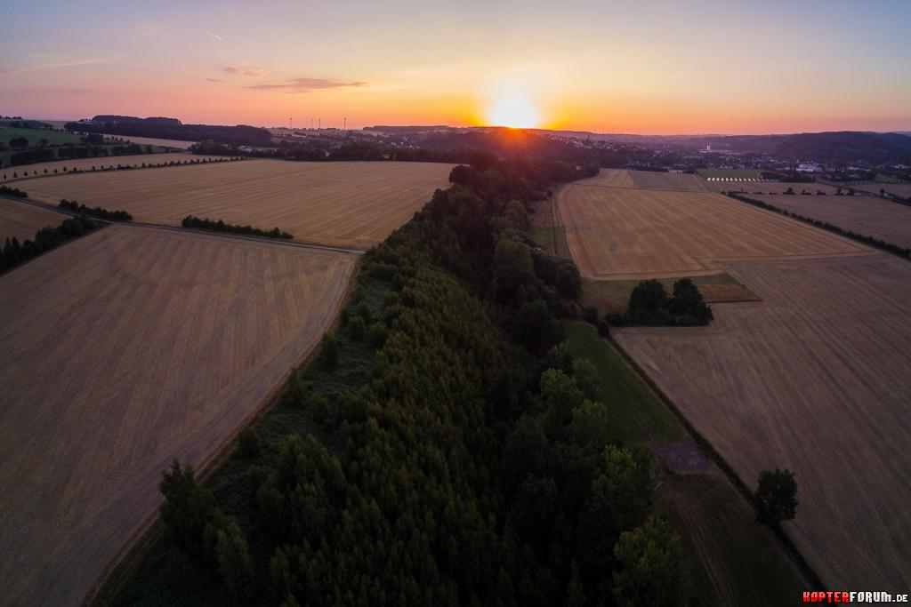 Sonnenaufgang über dem Ruhrtal