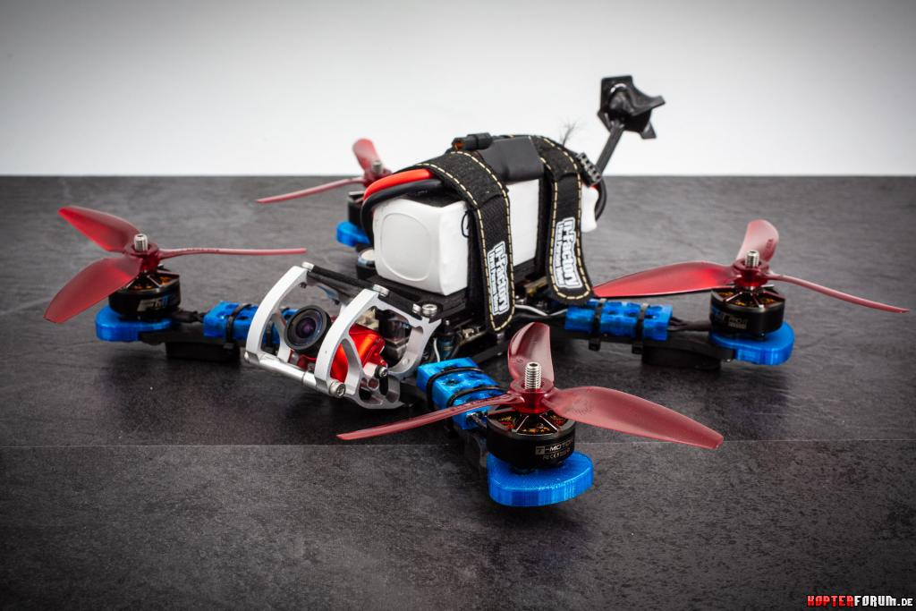 Mein erster FPV Freestyle Copter auf Basis Rooster 230